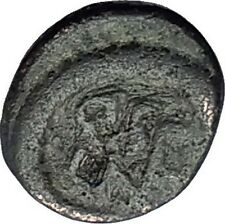 LEO I the Thracian 457AD Monogram Rare Authentic Ancient Roman AE4 Coin i59652