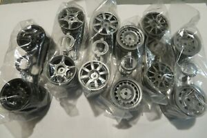 Tamiya Mini Cooper / M-Chassis Wheels (x4) - Assorted Styles/Colors M03/M05/M07