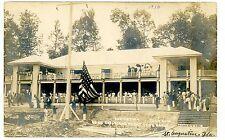 Lake Hopatcong NJ -DEDICATION OF CLUB HOUSE- RPPC Postcard