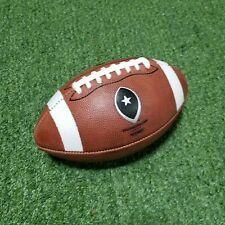 Big Game Peewee Leather Football - Game Ball for Ages 6-9 (Grades K-3)