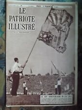 Hebdo.*LE PATRIOTE ILLUSTRE* n°37 - 10 Sept 1950.(Prince Royal sur la Tombes)