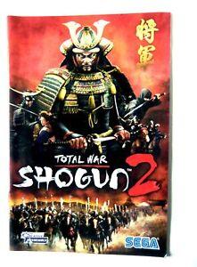 45426 Instruction Booklet - Shogun 2 Total War - PC (2010) MAN-S127-UK