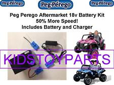 18V BATTERY & CHARGER CONVERSION PEG PEREGO RZR 900 w/ $20CASH BACK OPTION