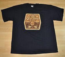 CORONA EXTRA BIRRA USA Gildan maglietta XL BLU SCURO - la cerveza MAS FINA LOGO