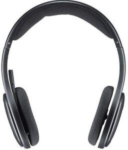 Logitech H800 Wireless Headset - Black, Bluetooth Connection