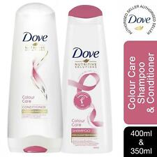 Dove Colour Care Shampoo 400ml & Conditioner 350ml For Colour-Treated Hair