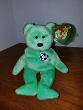 Ty Beanie Baby Kicks the Soccer Bear Very RARE with Errors