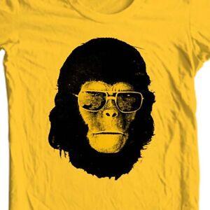 Planet of the Apes Sunglasses t-shirt roddy mcdowall original sci fi movie tee