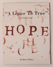 BRUCE WEBER A Letter To True Hope Vogue ITALIA Booklet KATE MOSS SNOOP DOGG