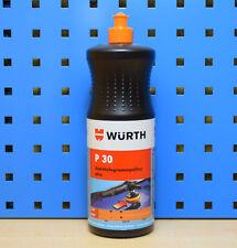 Würth P30 Plus Anti Hologramm Autopolitur Polierpaste 1kg 0893150030 Politur Aut
