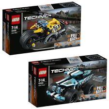 LEGO Technic Stunt Truck & Bike 42059 42058 Advanced Vehicle Set, 2 pcs/lot