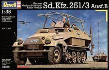 REVELL 1:35 KIT VEICOLO RADIO CORAZZATO TEDESCO Sd. Kfz. 251/3 Ausf. B ART 03065