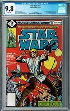 Star Wars #17 CGC 9.8 (Nov 1978, Marvel) Goodwin story, Owen & Beru Lars app.