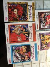 ALL 1st Printings SORCERER HUNTERS 1-5  Manga Satoru Akahori