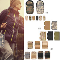 Outdoor Climbing Tactical Camo Gadget Waist Bag Military Molle Pouch Pack Travel
