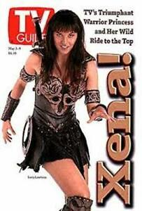 TV GUIDE 1997 - XENA WARRIOR PRINCESS - LUCY LAWLESS COVER - MAY 1997