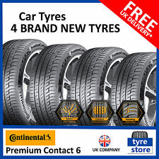 4x New 225 45 17 CONTINENTAL PREMIUM CONTACT 6  91Y 225/45R17 2254517 (4 TYRES)