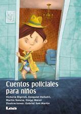 CUENTOS POLICIALES PARA NI±OS - RIGIROLI, VICTORIA/ DELLUTRI, EZEQUIEL/ SANCIA,