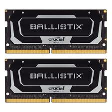 Crucial Ballistix SODIMM Schwarz 32GB Kit (2x16GB) DDR4-2666 CL16