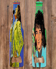 More details for rod stewart look-in covers metal bottle opener. 14cm x 4cm. new. free p+p