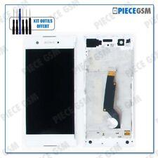 ECRAN LCD + VITRE TACTILE + FRAME pour SONY XPERIA XA1 BLANC + outils