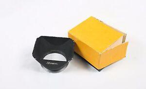 Ihagee 49mm Rectangular Metal Lens Hood