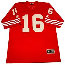 Vintage 1995 Starter Joe Montana 16 San Francisco 49ers Jersey Size 46