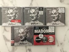 Madonna Rebel Heart Deluxe Edition 5 CD Lot - France USA Germany Malaysia Japan