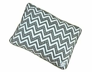 BowhausNYC Matching Fair Isle Crate Bed for Pets Dark Gray/White