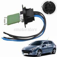Résistance Chauffage Ventilation Cable pour Peugeot 206 307 6445ZL 6445KL  #