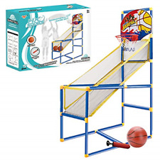 Kids Arcade Basketball Hoop Shot Game - Indoor Sports Shooting System with Mini