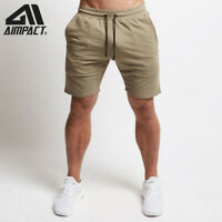 Bodybuilding Gym Shorts for Men Athletic Workout Running Training Trunks Aimpact