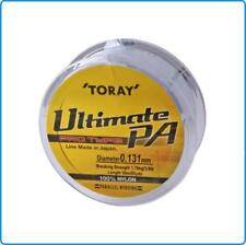 LENZA TORAY ULTIMATE PA 50MT 0.167mm 2.67KG NEUTRO IDEALE PESCA BOLOGNESE TROTA