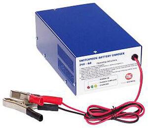 AC1208 - 12v 8Amp Lead Acid Battery Charger for 12v 32Ah batteries upwards