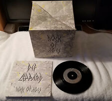 "DEF LEPPARD Rock Of Ages 7"" Vinyl UK Single 45 ROCK BOX PICTURE SLEEVE"