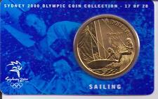2000 $5 RAM UNC Coin Sydney Olympic coin collection- 17 of 28 (Sailing) + cover