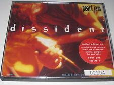 Pearl Jam Dissident limitedediton n. 2294 2 CDBOX incl. cd1 RAR