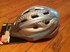 NWT Bell Richter youth Bike Helmet - Visor Multi Vents Reflectors