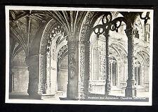 PORTUGAL 159.-LISBOA -Mosteiro dos Jeronimos Claustros Interiores(Real Photo)