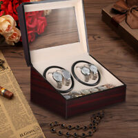 Luxury Automatic Watch Winder Display Box 4+6 Grid Leather Storage Case Box Gift