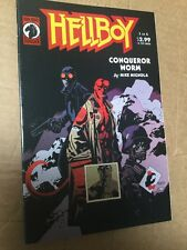 Hellboy Conqueror Worm #1 By Mike Mignola Dark Horse Comics 2001