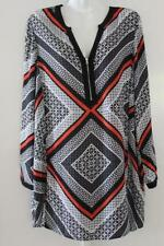 Katies Polyester Geometric Casual Tops & Blouses for Women