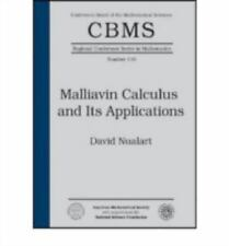 Malliavin Calculus and Its Applications Cbms Regional Conference Series in Math