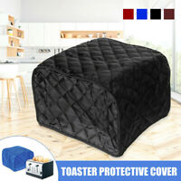 4 Slices Toaster Bakeware Oven Polyester Protector Cover Dustproof Kitchen Clean