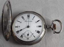 Alte silberne Taschenuhr Savonette aus Frankreich
