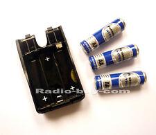 GA-37 B Bao AA Size Battery Case + 3pcs  AA Battery for Baofeng UV-3R