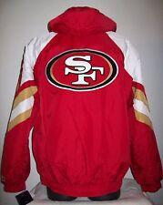 SAN FRANCISCO 49ERS STARTER PRO LINE Winter Jacket S M L XL 2X