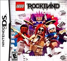 LEGO Rock Band ROCKBAND (Nintendo DS, 2009) COMPLETE GAME BOX MANUAL NES HQ
