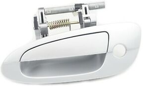 Front Driver Left Outside Door Handle For 2002-2006 Nissan Altima KY1 Silver