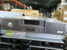 PowerVault 124T UH301 Tape Autoloader W/ LTO-3 800GB Tape drive NO POWER- BROKEN